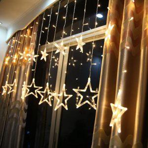 2m-138-led-star-curtain-string-fairy-lights