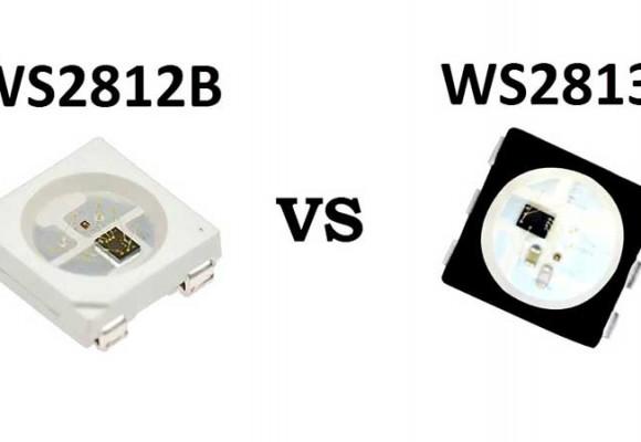 مقایسه نسل جدید ال ای دی WS2813 با WS2812 و SK6812