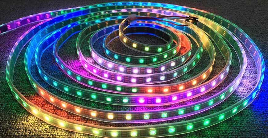 LED نواری دیجیتال چیست؟ بررسی تخصصی انواع LED نواری پیکسلی