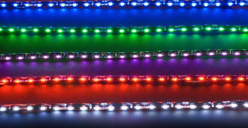راهنمای انتخاب LED های نواری!