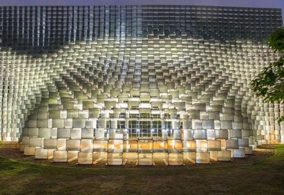 تحلیل زیباترین نورپردازی های LED اروپا بخش اول - Serpentine Pavilion
